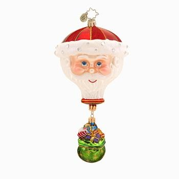 """Christopher Radko Glass Ornament - """"Come Fly With Me"""""""