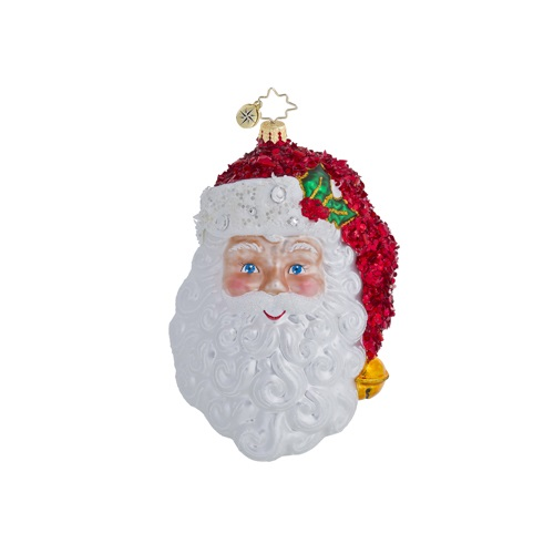 """Christopher Radko Glass Ornament  - """"With A Smile and A Wink Ornament"""""""