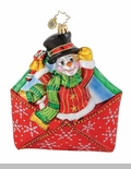 "Christopher Radko Ornament - ""Special Delivery Ornament"""
