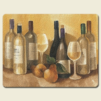 "Cutting Board - ""Vintage Wine"""