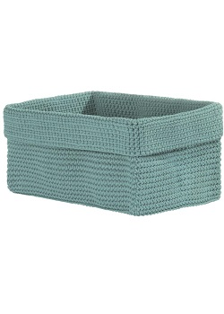 "Decorative Baskets - ""Crocheted Baskets - Sea Spray"" -Medium"