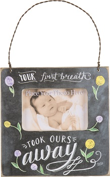 "Decorative Box Frame - ""Your First Breath...Box Frame"""