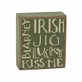 "Decorative Box Sign - ""Irish Jig... Box Sign"""