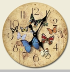 "Decorative Clock - ""Flutter By Clock"""