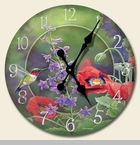 "Decorative Clock - ""Nature's Beauty Clock"""