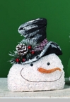 "Decorative Figurine - ""Frosty The Snowman"" - Medium"