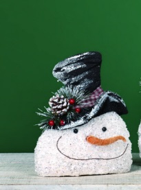 "Decorative Figurine - ""Frosty The Snowman"" - Small"