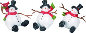 "Decorative Figurine - ""Snowman"""