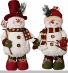 "Decorative Figurine - ""Snowman Figurine"" - 18"""