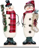 "Decorative Figurine - ""Standing Snowman"""