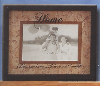 "Decorative Picture Frame - ""Home Picture Frame"""