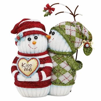 "Decorative Snowman - ""The Sockings Collection"""
