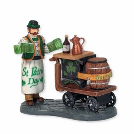 "Department 56 Christmas In The City - ""Serving Irish Ale"""