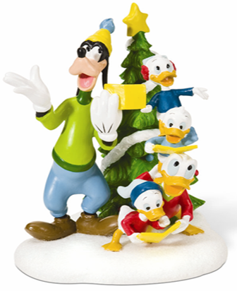 "Department 56 Disney Village - ""Mickey & Friends Sing Carols"""