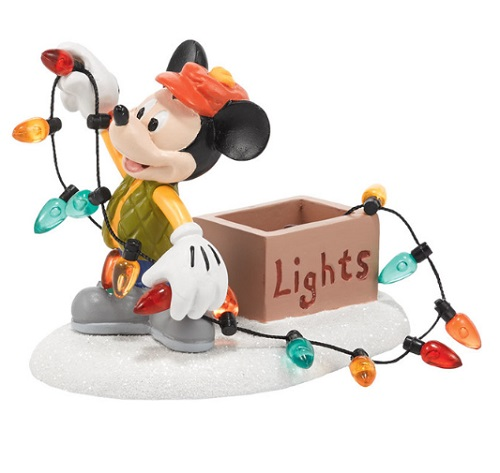 "Department 56 Disney Village- ""Mickey Lights Up Christmas"""