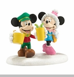 "Department 56 Disney Village- ""Mickey & Minnie's Date Night"""