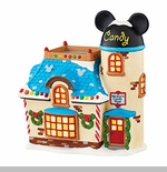 "Department 56 Disney Village - ""Mickey's Candy Shop"""