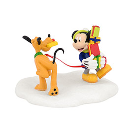 "Department 56 Disney Village- ""Mickey's Tangled Tango"""