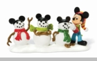 "Department 56 Disney Village  - ""Mickey's Three Mouseketeers"""