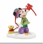 "Department 56 Disney Village- ""Minnie's Finishing Touch"""