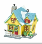 "Department 56 - Mickey's Christmas Village- ""Mickey's House"""