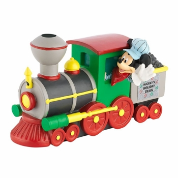 "Department 56 - Mickey's Christmas Village - ""Mickey's Train Engine"""