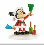 """Department 56 - Mickey's Christmas Village - """"Ringing In The Holidays"""""""