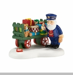 "Department 56 North Pole Village Accessory - ""Christmas Toy's On Schedule"""