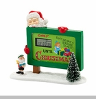 "Department 56 North Pole Village Accessory - ""Countdown To Christmas"""