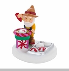 "Department 56 North Pole Village Accessory - ""Spin Art Master"""