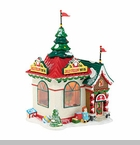 "Department 56 North Pole Village - ""Holiday Special The Jolly Fellow Toy Co."""