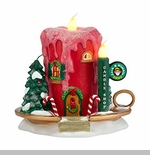 "Department 56 North Pole Village - ""Jack B. Nimble Candle Shop"""