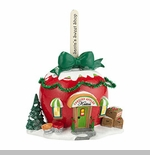 "Department 56 North Pole Village - ""Katie's Candied Apples"""