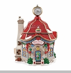 "Department 56 North Pole Village - ""Star Brite Glass Ornament Shop"""
