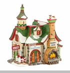 "Department 56 North Pole Village - ""The Polar Plunge Warming House"""