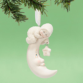 "Department 56 Snowbabies - ""Baby's First Ornament, 2014"""
