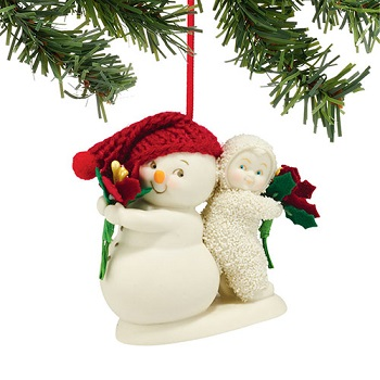 "Department 56 - Snowbabies Ornament - ""You're The Best Gift Ornament"""