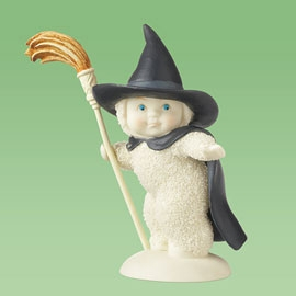 "Department 56 Snowbabies - ""You're A Bad Witch, Baby"""