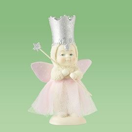 "Department 56 Snowbabies  - ""You're A  Good Witch"""