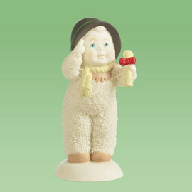 "Department 56 Snowbabies - ""You're So Smart, Baby"""