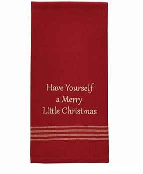 """Dish Towel - """"Have Yourself A Merry Little Christmas Dish Towel"""""""