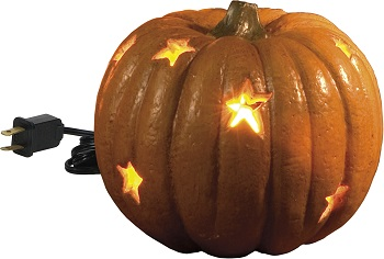 "Electric Light - ""Pumpkin With Stars"""