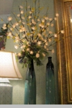 "Electric Lighted Flowers - ""Lighted White Blossom Branches"" - Large"