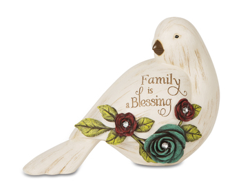 """Elements Collection - """" Family Is A Blessing Bird Figurine"""""""