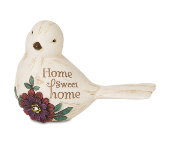 """Elements Collection - """"Home Sweet Home Bird Figurine"""""""