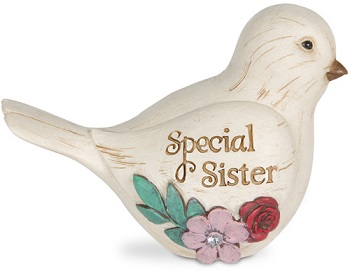 """Elements Collection - """"Special Sister Bird Figurine"""""""