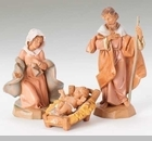 "Fontanini Nativity 5"" Collection - ""Holy Family"""