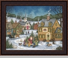 Framed Folk Art Paintings by Bonnie White