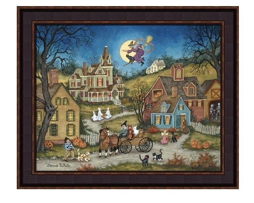"Framed Picture - ""The Witching Hour"" - Artist Bonnie White"