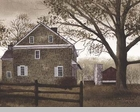 "Framed Print  - ""Bucks County Home"" - Artist Billy Jacobs"